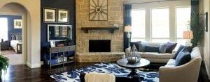 New Home Merchandising, Bloomfield, Living Room, Frisco