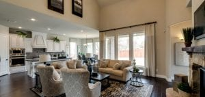 New Home Merchandising, Impression, Living Room and Kitchen, Plano