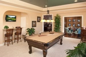 New Home Merchandising, Game Room, Fairview