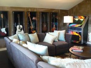 New Home Merchandising, Ryland, Music Room, McKinney