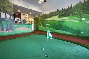 New Home Merchandising, Luxury Golf Room, Trophy Club, TX