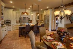 New Home Merchandising, Luxury Kitchen, Trophy Club, TX