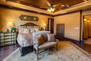 New Home Merchandising, Luxury Master Bedroom, Trophy Club, TX