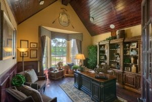 New Home Merchandising, Luxury Study, Trophy Club, TX